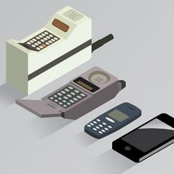 cell phone history